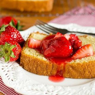 Strawberry Yogurt Cake.