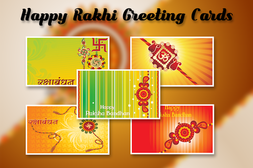 Rakhi Greetings - Raksha Bandhan 2017 1.0 screenshots 5