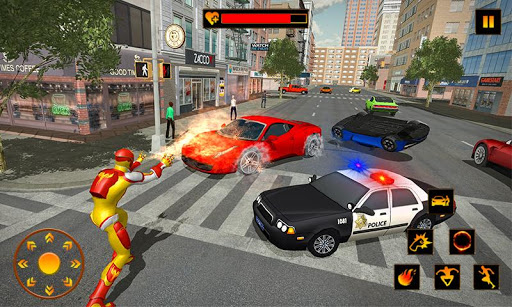 Flame Hero Flying Superhero City Rescue Mission 1.0.5 Cheat screenshots 4