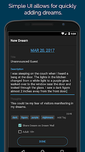 Dream Journal Ultimate - náhled