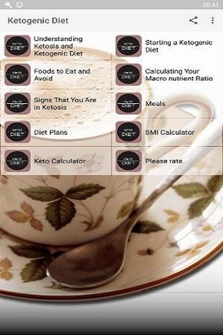 Ketogenic Diet Low carb recipes for Weight Loss 1.0.3 screenshots 2