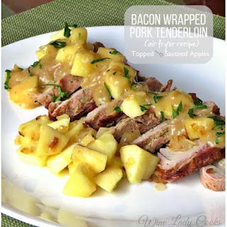 Bacon Wrapped Pork Tenderloin Air Fryer.