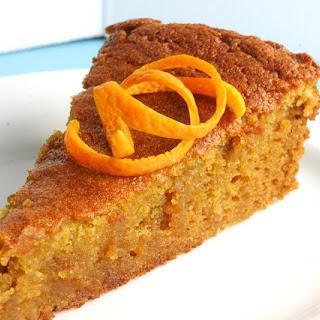 Valencia Orange Cake.