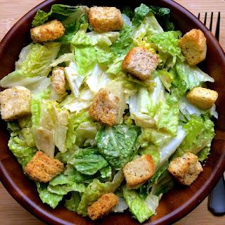 The Best Vegan Caesar Salad!.