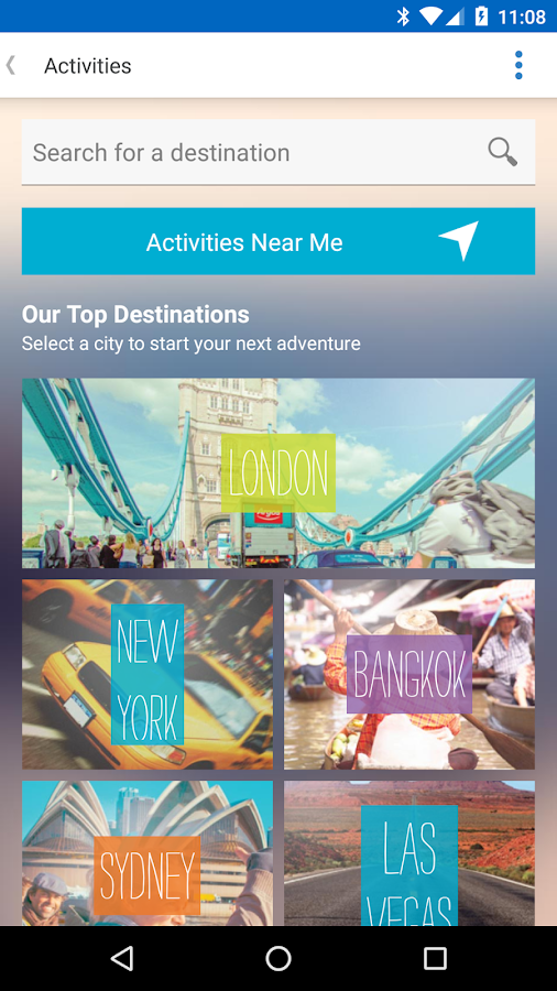 STA Travel- screenshot