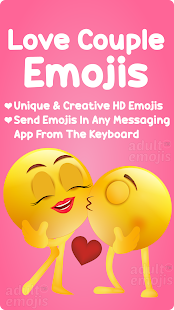 Download Love Couple Emoji Sticker Keyboard For PC Windows and Mac apk screenshot 1