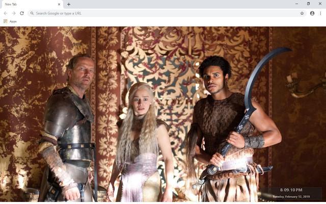 Jorah Mormont New Tab & Wallpapers Collection