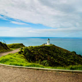 Cape Reinga-Northern end of New zealand by Santhosh Pereparambil - Landscapes Mountains & Hills ( cape reinga, nikon d750, nikon 24 70 2.8, new zealand )
