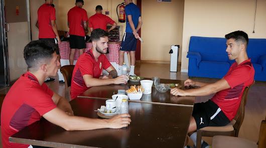 La dieta veraniega del Almería