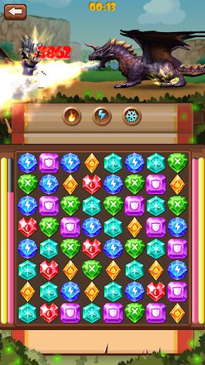 Gem warrior: Match 3 Adventure 3.0 {cheat|hack|gameplay|apk mod|resources generator} 5