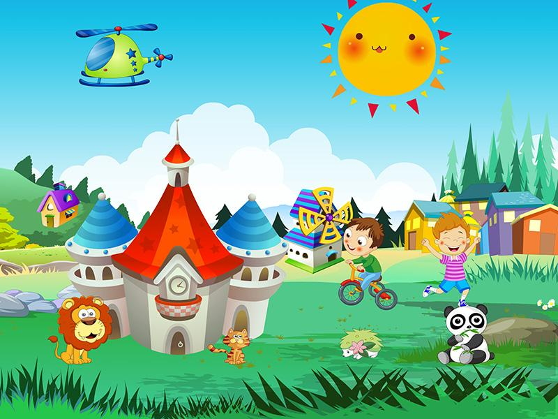 Kids cartoon decoration game android apps on google play for 143dressup games decoration