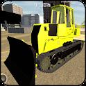 Bulldozer Driving Simulator 3D icon