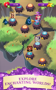 Bubble Witch 3 Saga Mod Apk (Unlimited Life) 14
