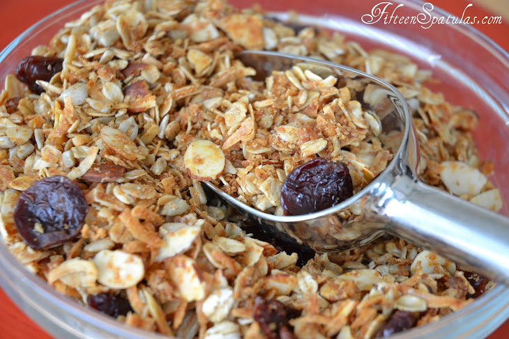 Cherry Almond Everyday Granola Recipes — Dishmaps