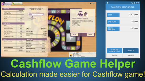 CASHFLOW Game Helper- Financial Planner - náhled