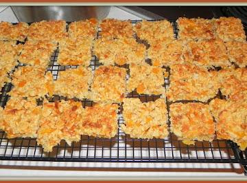 Apricot, Coconut And Almond Bars Recipe