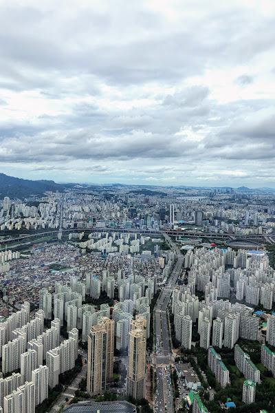 Study Abroad Program in Daegu S.Korea: field trip to Seoul - aerial view