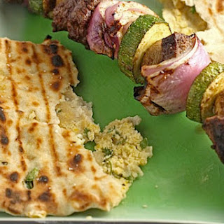 Pea & Herb Stuffed Indian Flatbread