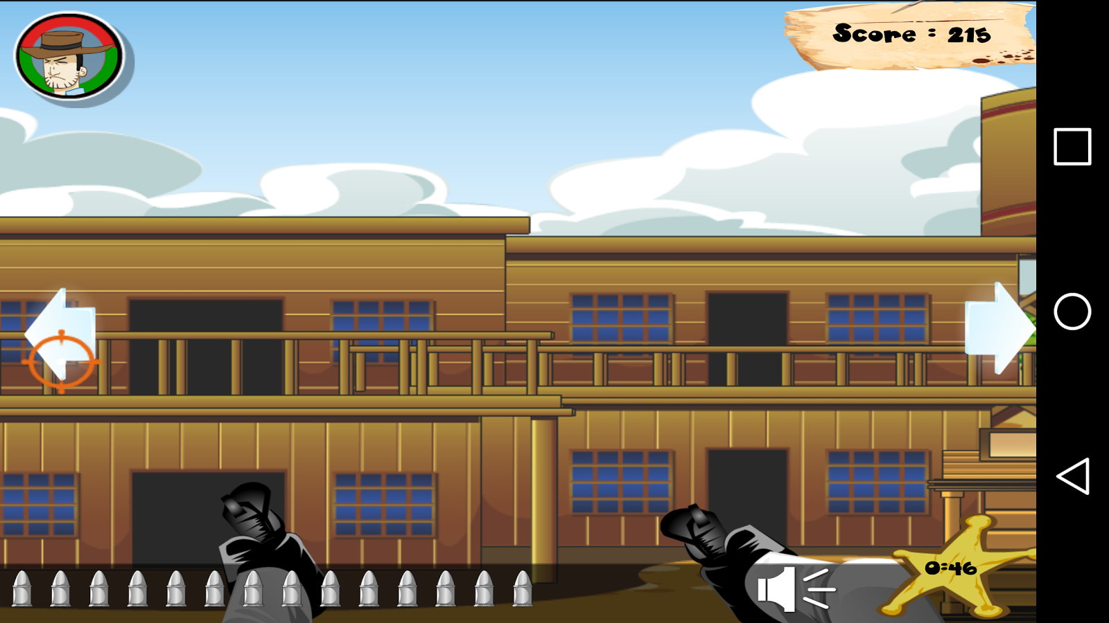 Wild West City Shootout- screenshot