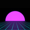 Vaporwave Wallpapers New Tab Background Icon