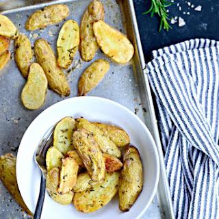 Roasted Rosemary + Smoked Salt Fingerlings