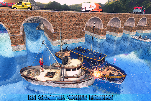 Fishing Ship Simulator 2020 : Fish Boat Game painmod.com screenshots 13