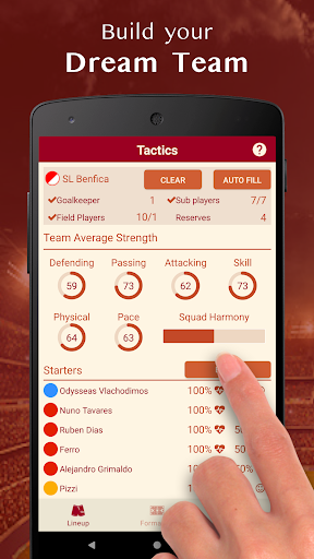 Be the Manager 2020 - Soccer Strategy  screenshots 5