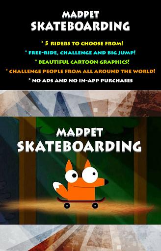 Madpet Skateboarding PRO  screenshots 1