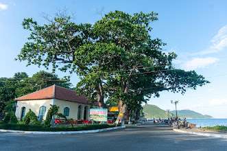 Photo: Côn Sơn coffee, at the quay