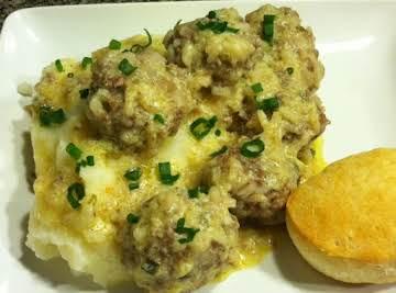 Greek Creamy Lemon Meatballs (aka avgolemono)