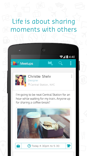 Meetizer - Spontaneous Meetups