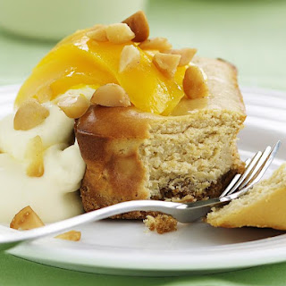 Macadamia and Mango Cheesecake