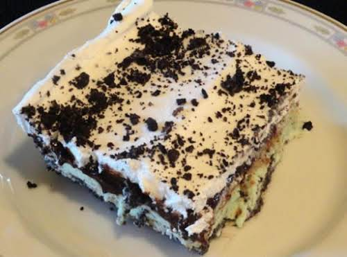 """Oreo Mint Chocolate Chip Freeze""""This was a great dish we loved it!""""..."""