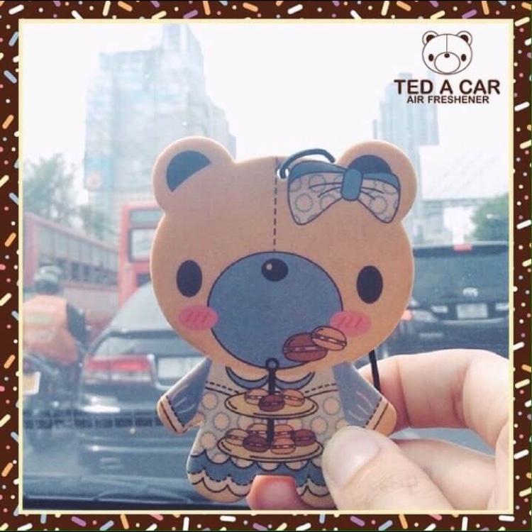 Ted A Car - Hazelnut Macaron Flavour