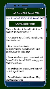 Download AP Board Results 2020,10th&12th Board Result 2020 For PC Windows and Mac apk screenshot 2