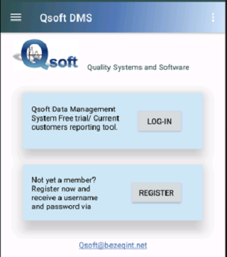 Qsoft DMS- screenshot