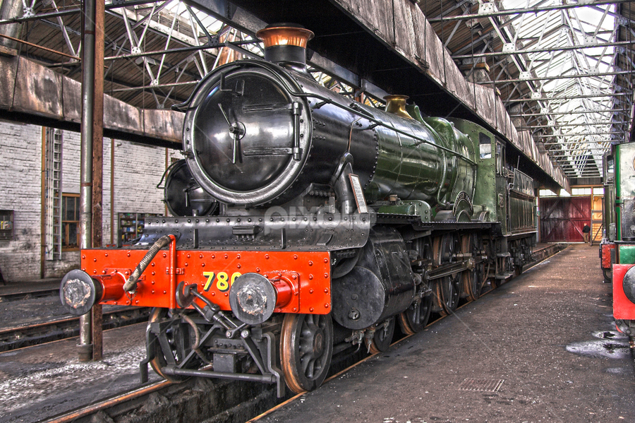 7808 Cookham Manor by Steve Wright - Transportation Trains ( gwr, hdr, didcot, cookham manor, manor )
