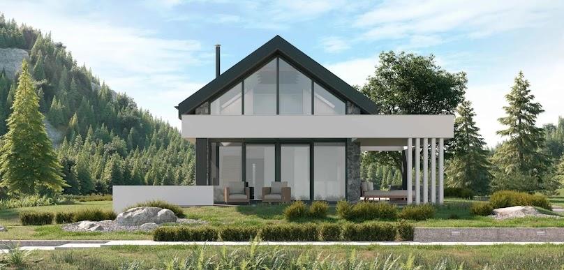 Projekt domu Koncept-65 DL