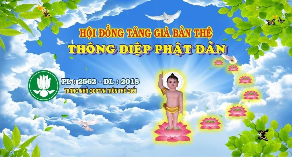 Thông điệp Phật Đản PL.2562 của Hội Đồng Tăng Già Bản Thệ
