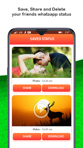 Status Saver for WhatsApp & Status Downloader 1.28 screenshots 2