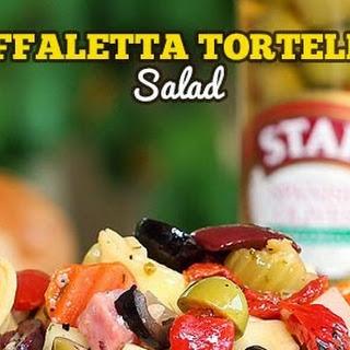 Muffaletta Tortellini Salad