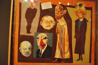 """Photo: Berlinische galerie  Hannah Höch """"Journalists"""""""
