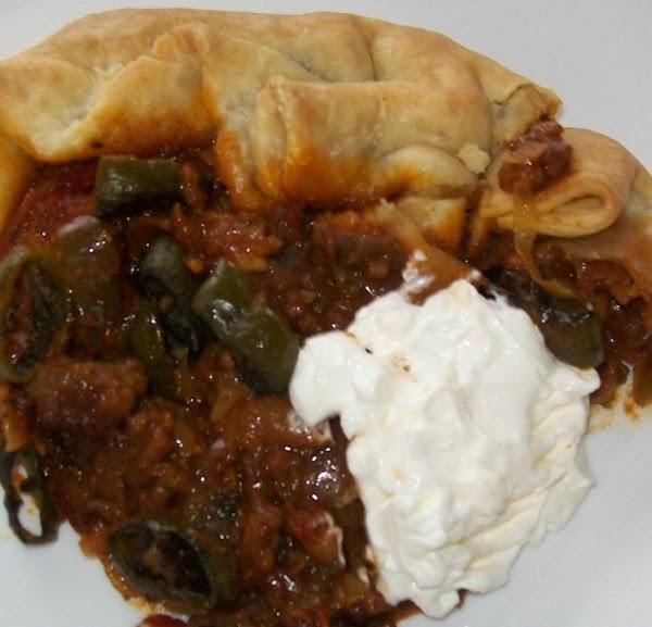 Holy Mole Meat Pie…. Recipe