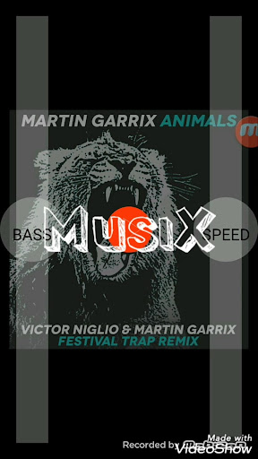 MusiX - music player and visualizer ss1