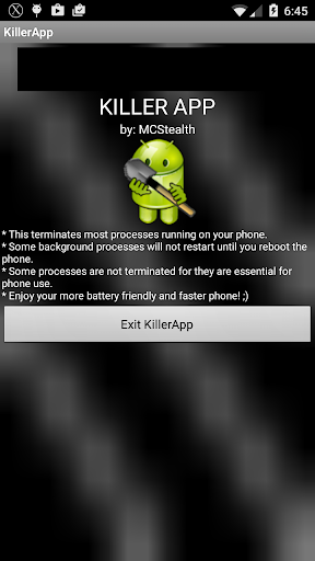 KillerApp Advanced Task Killer