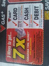 Photo: Wow!  3 ways to get 7x Bonus Canadian Tire Money!!