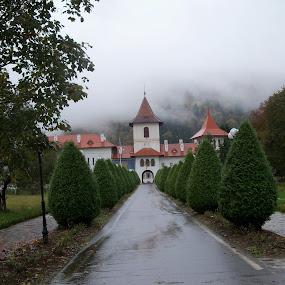 monastery by Ionela Garovat - Buildings & Architecture Other Exteriors ( building, monastery, architecture )