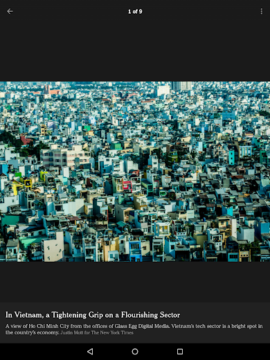 Screenshot 13 for The New York Times's Android app'