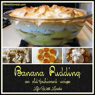 Old-Fashioned Banana Pudding