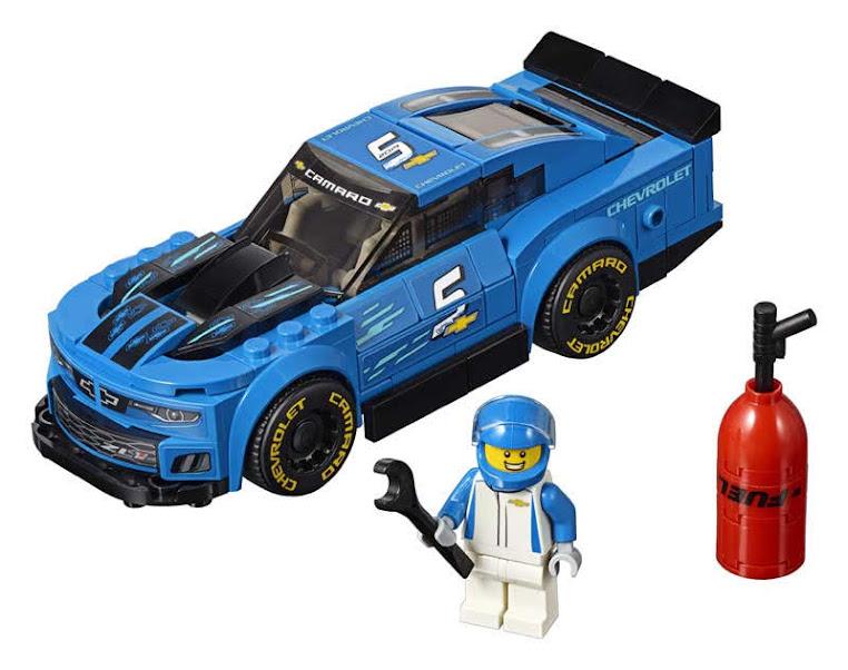Contenido de Lego® 75891 Deportivo Chevrolet Camaro ZL1